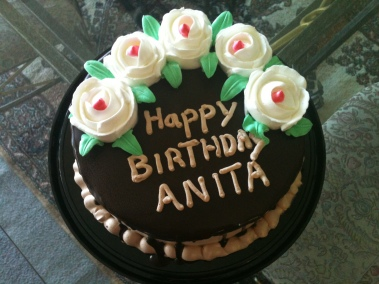 Happy Birthday, Anita