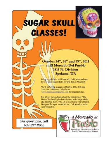 Sugar Skull Classes