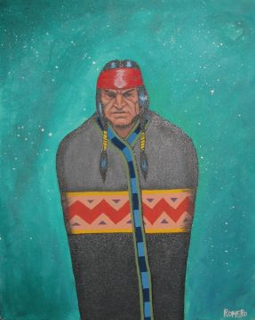 Painting by Antonio Romero